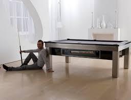 lambert led slate bed pool dining table gadget flow