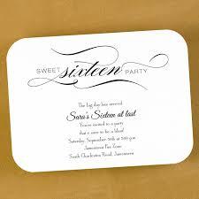 design exquisite 16th birthday invitations ideas with