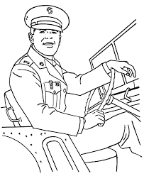 army soldier coloring pages military army general driving car coloring pages bulk color