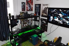 gaming bedroom setup video game room ideas lovely gamer x small