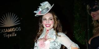 steven tyler halloween mask kelly brook sacha baron cohen dress up for halloween party pictures