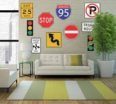 signs and decor road sign decor home decorating ideas