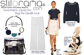 trend watch u2026casual chic u2026shop the catwalk look fashion blog