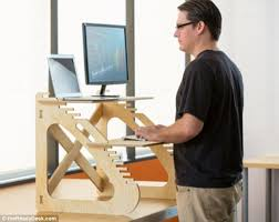 Standing Desk Feet Hurt Employers Advised To Bring Staff To Their Feet With Standup Desks