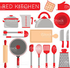 Chef Decor For Kitchen by Kitchen Objects Instruments For Cooking Chef Accessories Stock