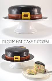 pilgrim thanksgiving recipes pilgrim hat cake tutorial dream a little bigger