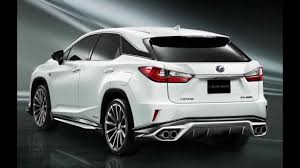 lexus rx 450h limited edition 2016 lexus rx trd youtube