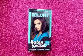 how to bblunt salon secret high shine creme hair color review