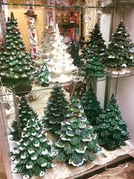 vintage lighted christmas trees christmas decorating pinterest