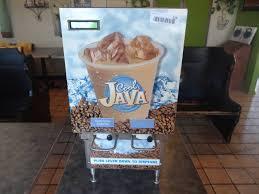 dispense java cool java kan pak refrigerated dispenser flying monkey