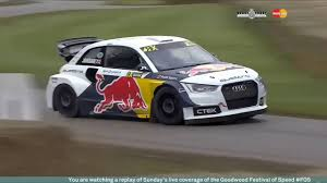 audi a1 wrc audi s1 eks rx at goodwood festival of speed 2016