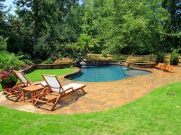 in ground vs above ground pools outdoor design landscaping ideas