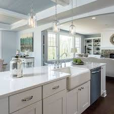 kitchen cabinets with white quartz countertops how to choose the right white quartz for kitchen countertops