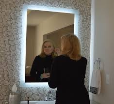 lights bath pic makeup mirror with lights wall mounted lighted