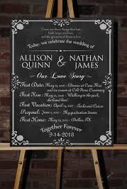 wedding program poster cockney rhyming slang table names unique shabby chic wedding ideas
