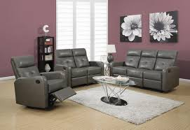 Bonded Leather Loveseat Modular 2 Piece Bonded Leather Reclining Loveseat With Button Tuft