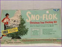 tree snow flocking kit home design ideas