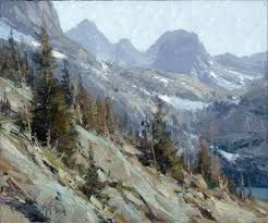 Mountain Landscape Paintings by 559 Best Mountain Paintings Images On Pinterest Mountain