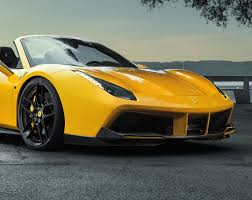 ferrari 488 modified the beautiful ferrari 488 spider by novitec rosso scuderia car parts