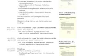 Personal Injury Paralegal Resume Sample by Senior Paralegal Resume Reentrycorps