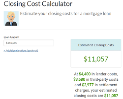 Estimate Mortgage Loan Amount by Besmartee How To Use A Mortgage Closing Cost Calculator
