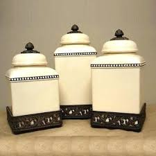 ceramic canisters sets for the kitchen black ceramic canister sets kitchen darlingbecky me