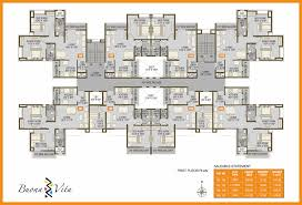 2bhk floor plans floor plans and 3d views of 1 1 5 2 bhk apartments at buonavita in