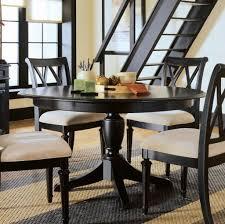 imposing ideas black round dining table set smartness design