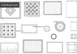 carpets cad blocks download