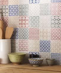 batik patchwork green tile topps tiles