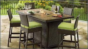 Glass Top Patio Table And Chairs Home Design Dazzling Patio Table High Top Outdoor And Chairs Bar