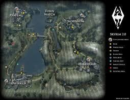 Skyrim Quality World Map by Skyrim 2 0 Feudal World Videos Of My Mapping Progress