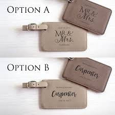 wedding tags for favors personalized wedding luggage tag favor