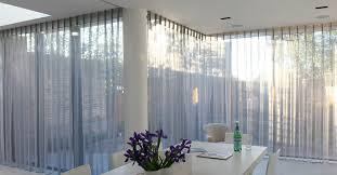 Pinch Pleated Semi Sheer Curtains Sheer Curtains For Delicate Lights And Looks Drapery Room Ideas
