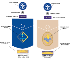 webelos arrow of light requirements 2017 arrow of light placement on boy scout uniform www lightneasy net