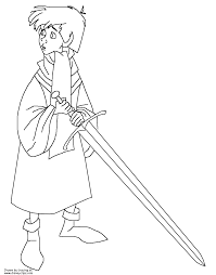 the sword in the stone coloring pages disney coloring book