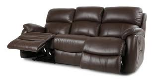 Dfs Recliner Sofas by Dfs Navona Couch Brown Leather Settee 3 Seater Power Recliner Sofa