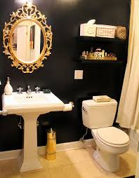 gold bathrooms black and gold bathroom accessories bathrooms