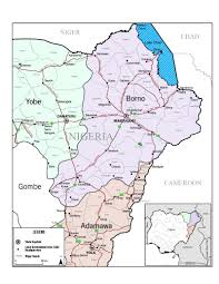 Map Of Northeast 364 Days Later Nigeria Is Still Waiting For The Chibok Girls And