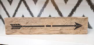 Reclaimed Wood Home Decor Amazon Com Reclaimed Wood Arrow Sign Decor Tribal Barn Wood