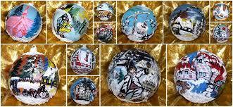 obiecte handmade globuri de sticla pictate manual obiecte handmade home