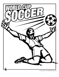 World Cup Coloring Pages Woo Jr Kids Activities Cup Coloring Page