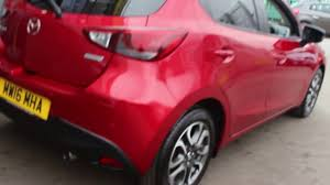 mazda car company mazda 2 1 5 sport finished in soul red at rix motor company youtube
