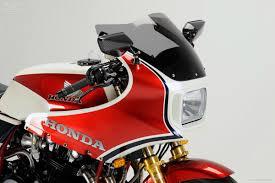 tuner honda honda cb1100r with fairing moto rivista