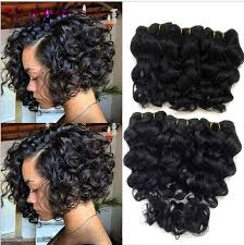 best african american weave hair to buy curly online shop summer new 8 inch deep wave tissage bresilienne queen