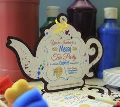 messy tea party birthday invitation print iamme interactive