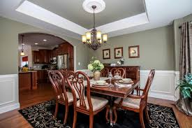 Dining Rooms With Wainscoting Dining Room Portfolio Cedar Knoll Builders Lancaster New Homes