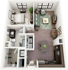 50 one u201c1 u201d bedroom apartment house plans small dining one 1 and