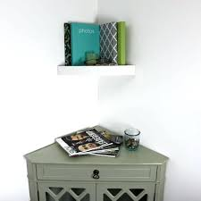 Corner Wall Bookcase Corner Wall Shelf White Buy Zigzag Wall Mount Floating Corner Wall