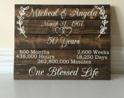 wedding anniversary ideas anniversary gift for parents etsy